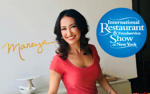 """Fit Foodie"" Chef Mareya to Emcee at the International Restaurant and Foodservice Show Live in NYC"